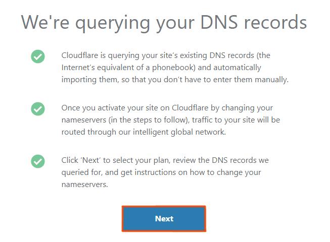 Querying DNS records