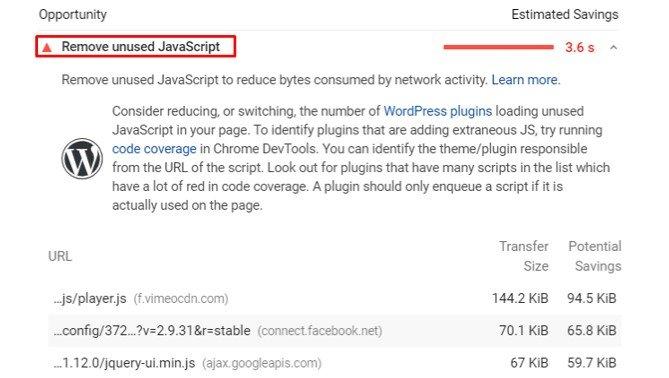 How to Remove Unused JavaScript in WordPress