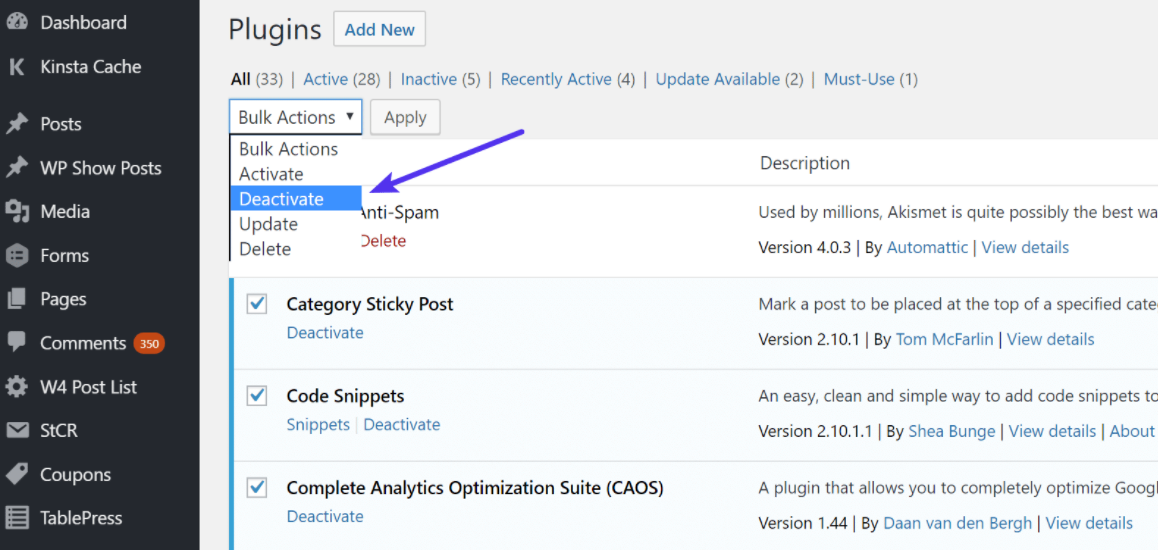 Remove or Deactivate All the plugin to find plugins that are slowing down your site