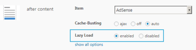 activate the function for the placements you want to defer loading ads