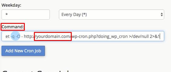 setup cache via cron job replacing yourdomain.com with your actual domain